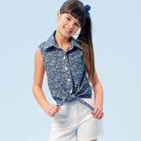 McCalls 6951 Pattern ( Size 7-8-10-12-14 )