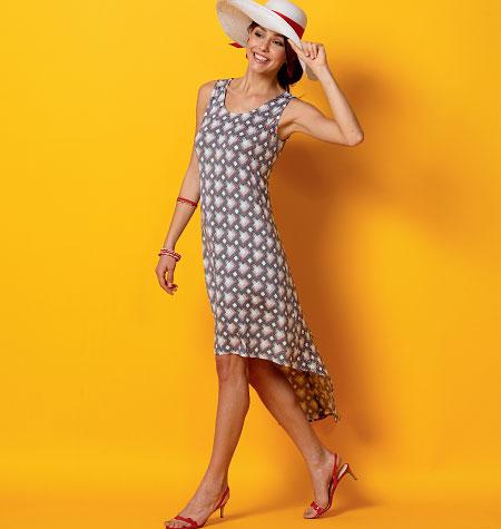 McCall's Misses'/Miss Petite Dresses and Belt 6957