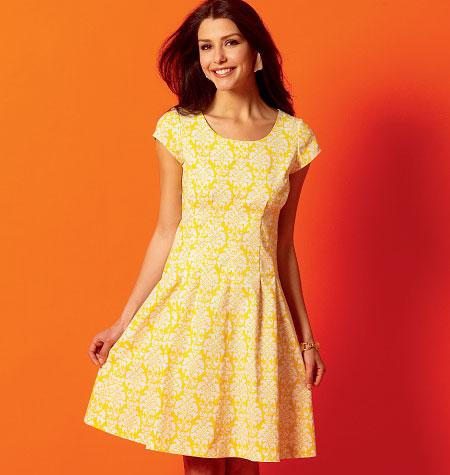 McCall's Misses'/Miss Petite/Women's/Women's Petite Dresses 6958
