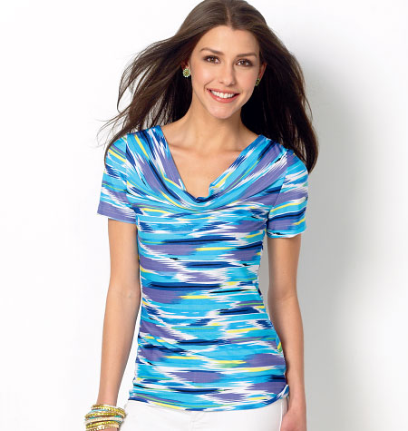 McCall's Misses' Tops 6963