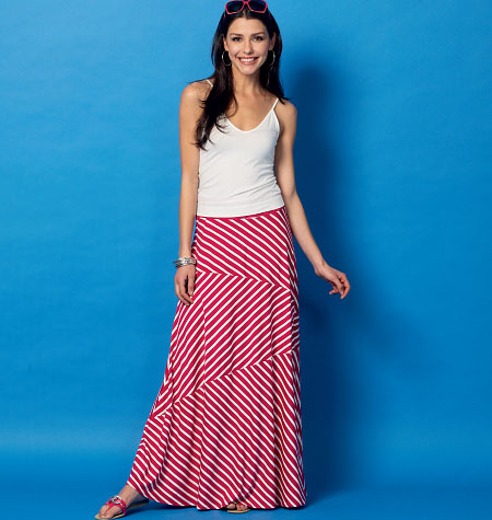 McCall's Misses' Skirts 6966