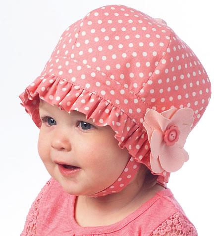 McCall's Infants' Hats 6976