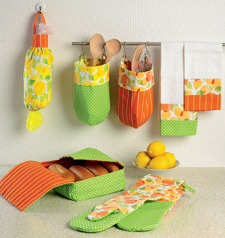 Mccall 39 s 6978 apron and kitchen accessories for Anthropologie cuisine couture apron