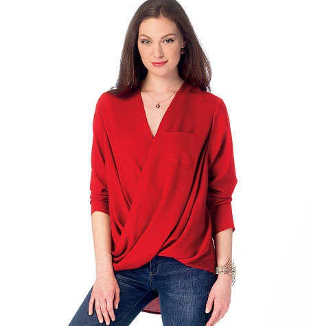 McCall's Misses' Tops 6991