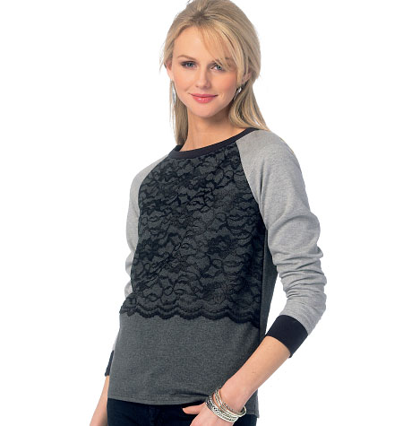 McCall's Misses' Tops 6992