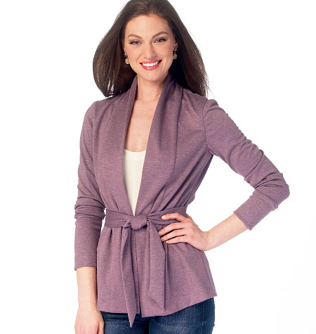 McCall's Misses' Jackets and Belt 6996