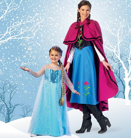 McCall's Winter Princess Costumes 7000