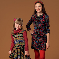 McCalls 7009 Pattern ( Size 3-4-5-6 )
