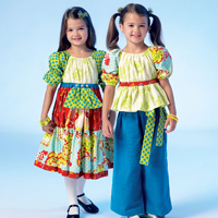McCalls 7040 Pattern ( Size 6-7-8 )