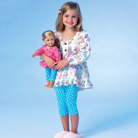 McCalls 7043 Pattern ( Size 6-7-8 )