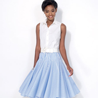 McCalls 7097 Pattern ( Size 6-8-10-12-14 )
