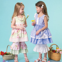 McCalls 7110 Pattern ( Size 6-7-8 )