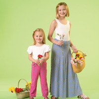 McCalls 7113 Pattern ( Size 3-4-5-6 )