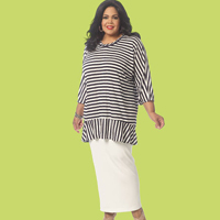 McCalls 7134 Pattern ( Size 8-10-12-14-16 )