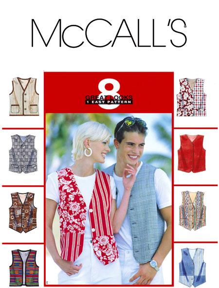 McCall's  Vest 8285