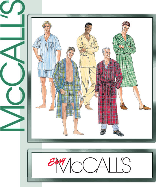 McCall's Men's Robe/Sleepwear 8524