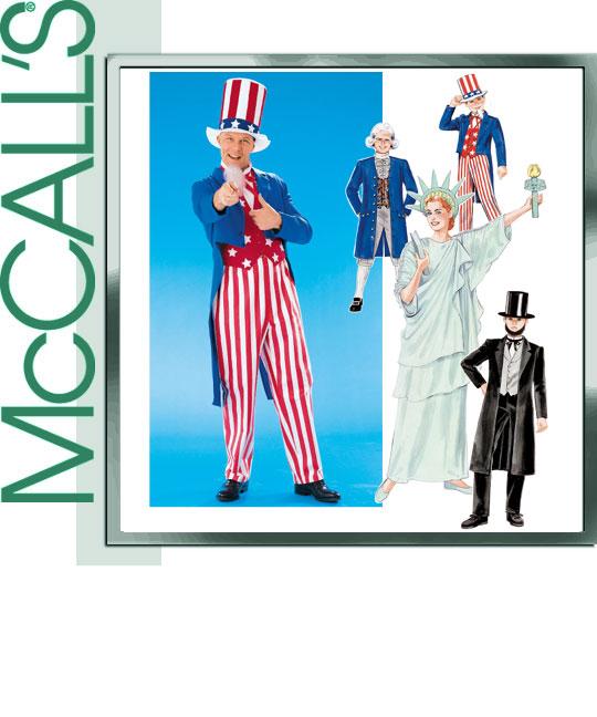 McCall's Patriotic Costumes 8701