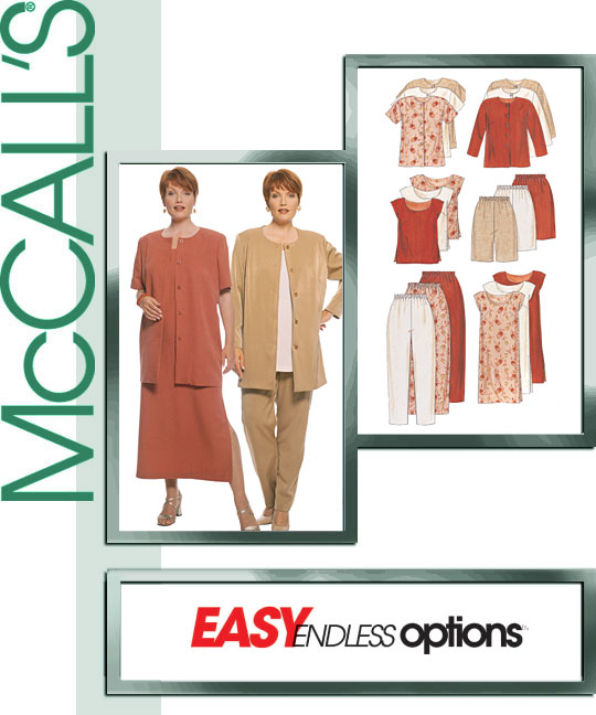 McCall's Easy Endless Option Set 9222