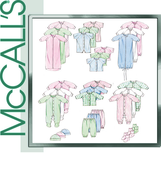 McCall's Layette 9407