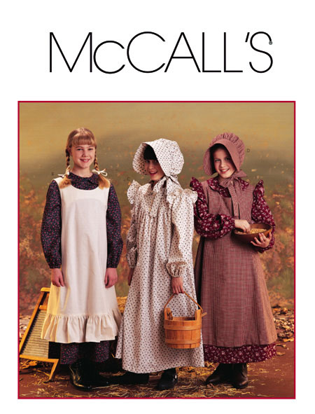 McCall's pioneer costume 9424
