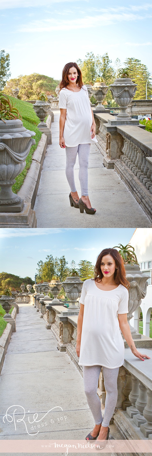 Megan Nielsen Rie Dress & Top MN1005
