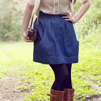 Megan Nielsen Brumby Skirt Paper Pattern