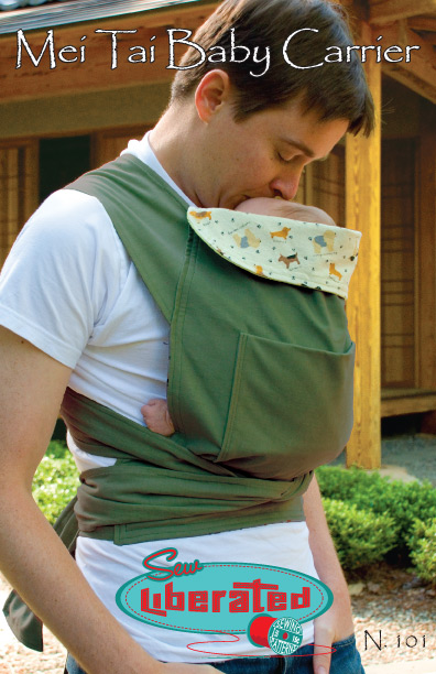 Sew Liberated Mei Tai Baby Carrier N101