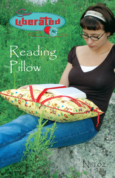 Sew Liberated Reading Pillow N102