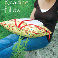Sew Liberated Reading Pillow