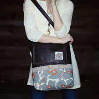 Sew Liberated Mischievous Gnome Messenger Bag