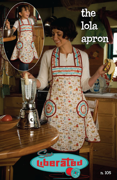 Sew Liberated Lola and Lolita Aprons N105