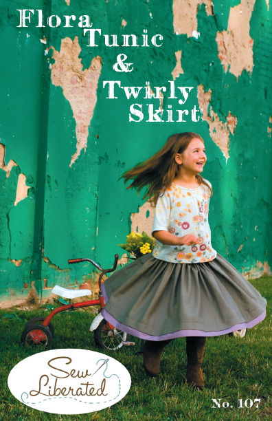 Sew Liberated Flora Tunic and Twirly Skirt N107