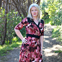 Muse Patterns Gillian Wrap Dress Digital Pattern