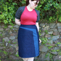 Muse Patterns Tahi Skirt and Knit Shrug Digital Pattern
