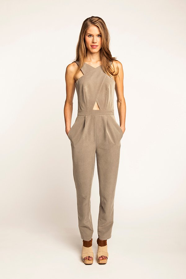 Named Clothing Ailakki Cross Front Jumpsuit Ailakki