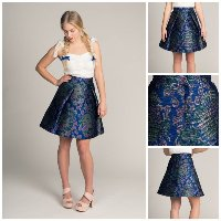 Named Eleonora Pleated Mini Skirt Digital Pattern
