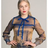 Named Madeleine Bow Tie Blouse Digital Pattern