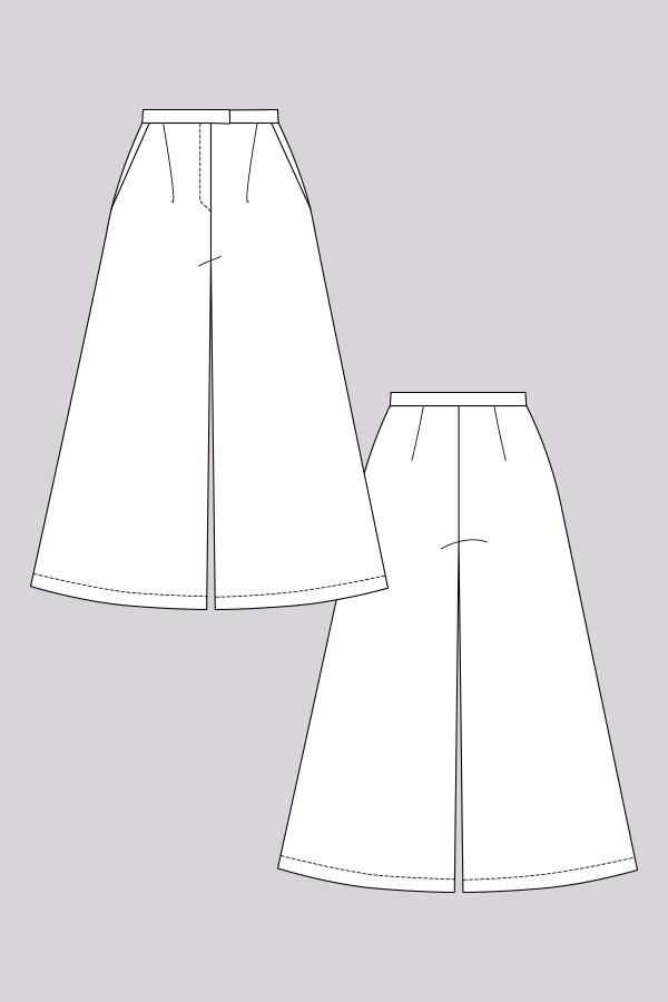 Named Clothing Mimosa Culottes Downloadable Pattern Sewing