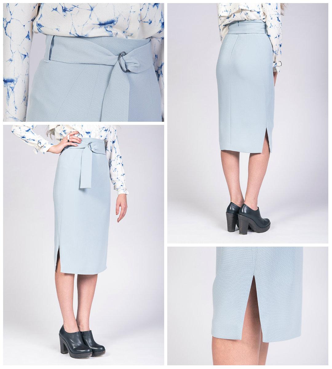 named clothing 04 086 pulmu high waisted pencil skirt