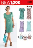 New Look 6022 Pattern ( Size 6-8-10-12-14-16 )