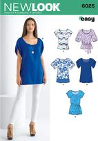 New Look 6025 Pattern ( Size 8-10-12-14-16-18 )