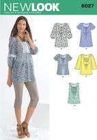 New Look 6027 Pattern ( Size 10-12-14-16-18-20-22 )
