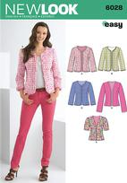 New Look 6028 Pattern ( Size 8-10-12-14-16-18 )