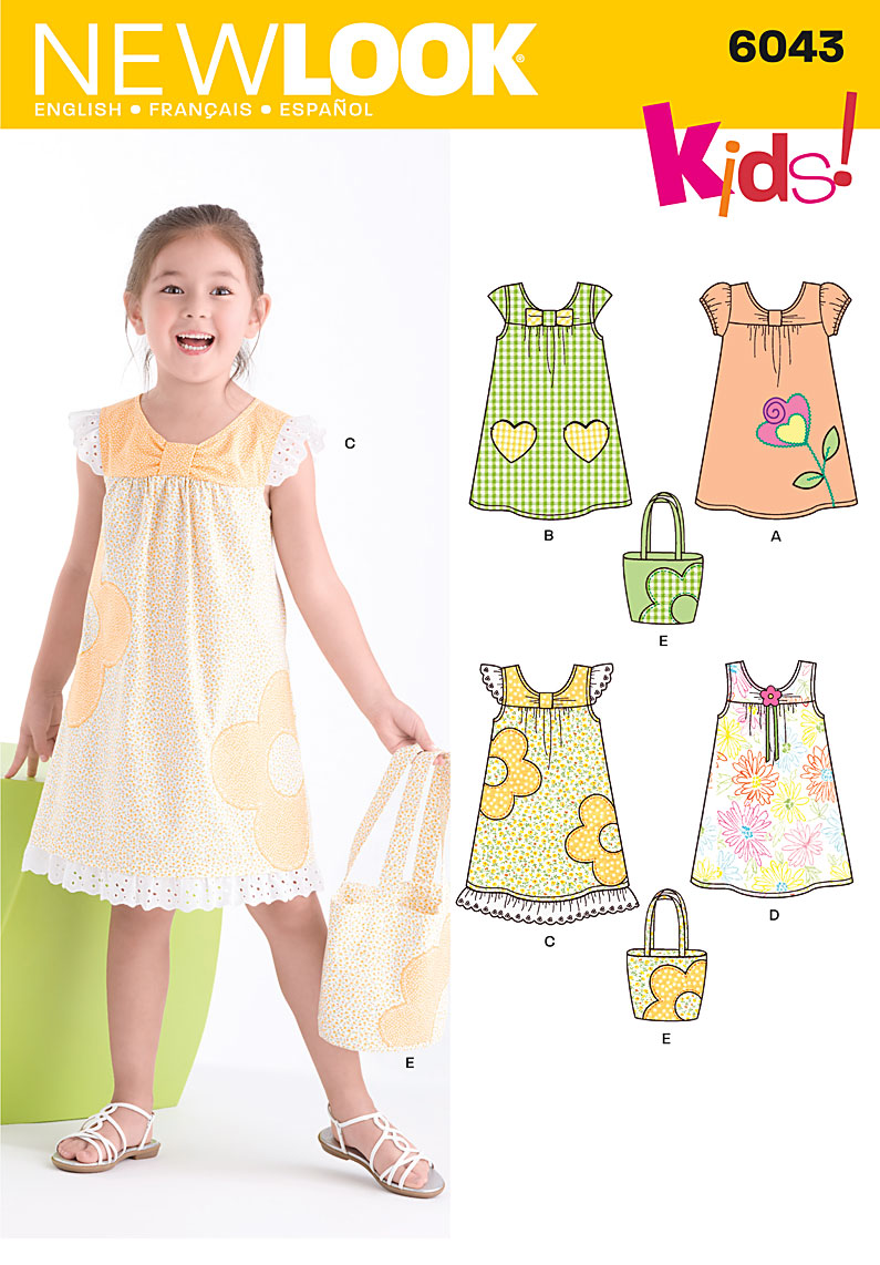 New Look Child's Dress & Bag 6043