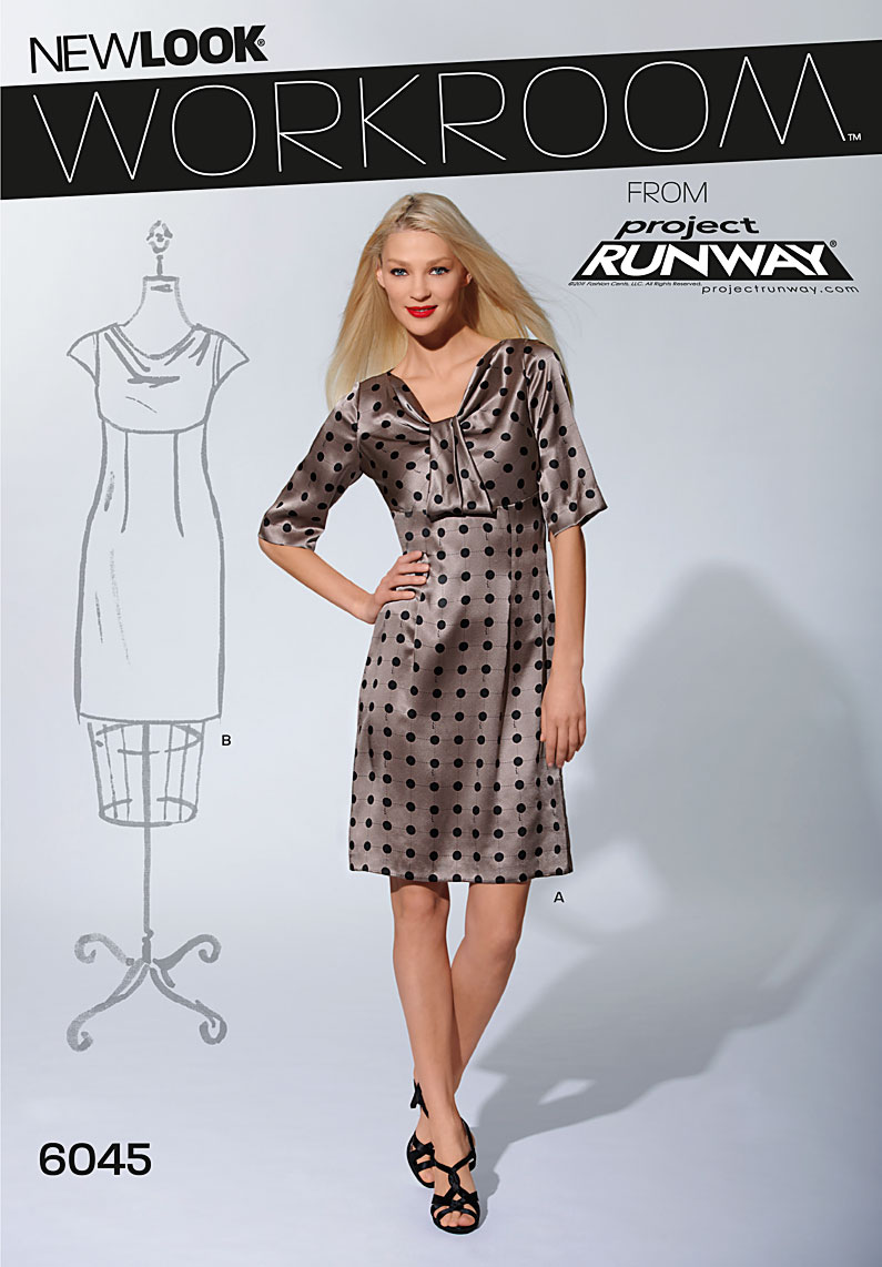New Look Misses' Dresses 6045