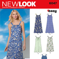 New Look 6047 Pattern ( Size 10-12-14-16-18-20-22 )