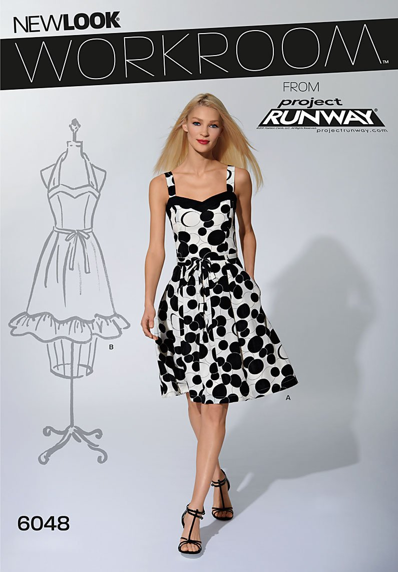 New Look Misses' Dresses 6048