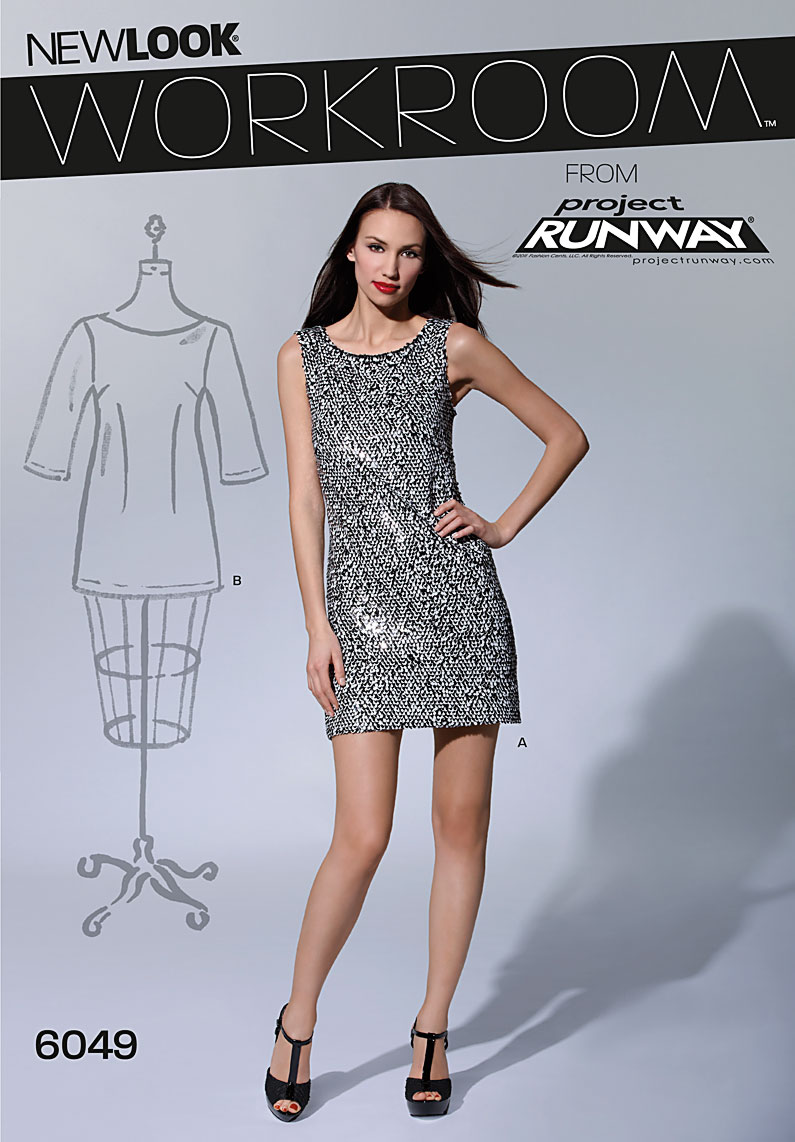 New Look Misses' Dresses 6049