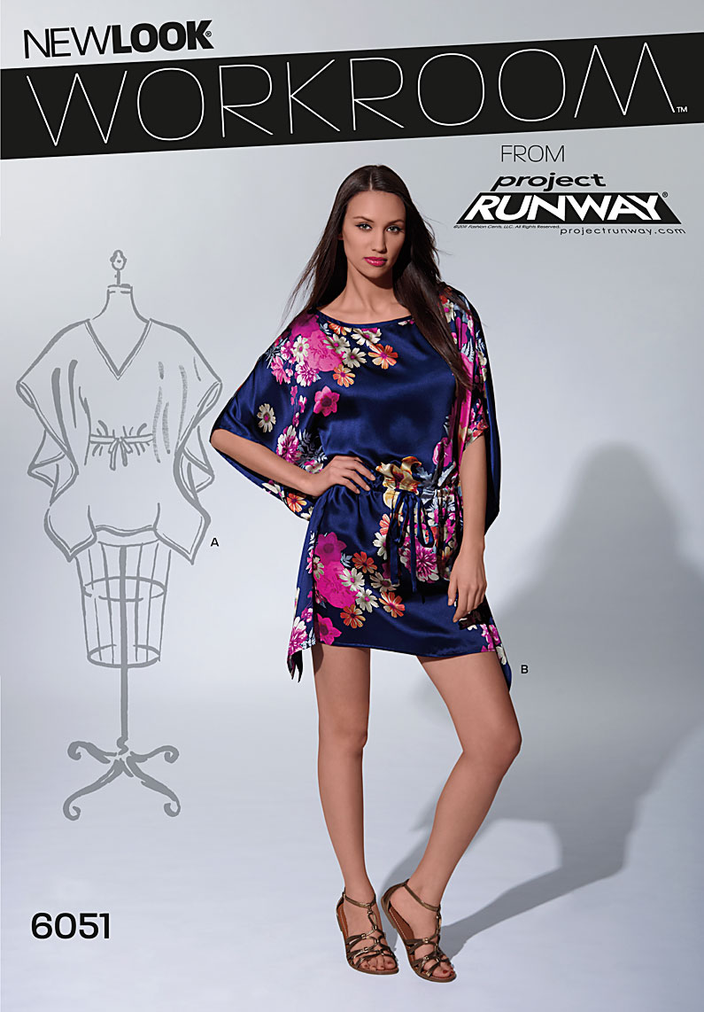 New Look Misses' Tunic 6051