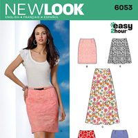 New Look 6053 Pattern ( Size 4-6-8-10-12-14-16 )